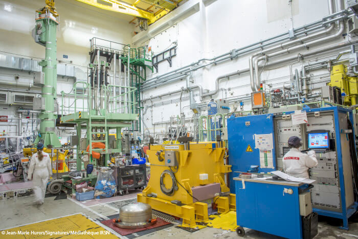 Inside a nuclear research reactor safety