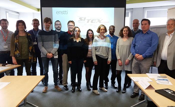 SITEX/ENSTTI Module 1 training participants and teachers