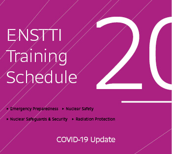 ENSTTI Training Schedule 2020 with a COVID-19 Update
